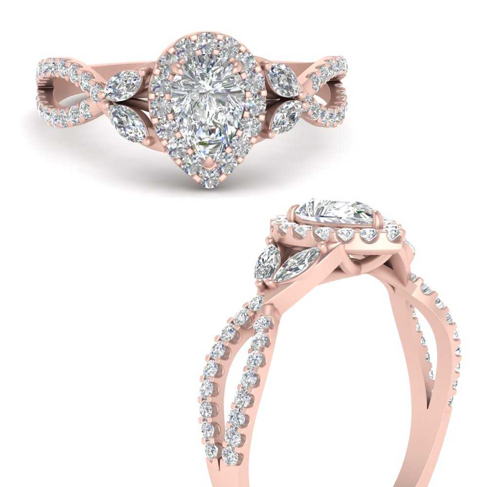 floral-halo-twisted-pear-shaped-lab diamond-engagement-ring-in-FDENS3303PERANGLE3-NL-RG