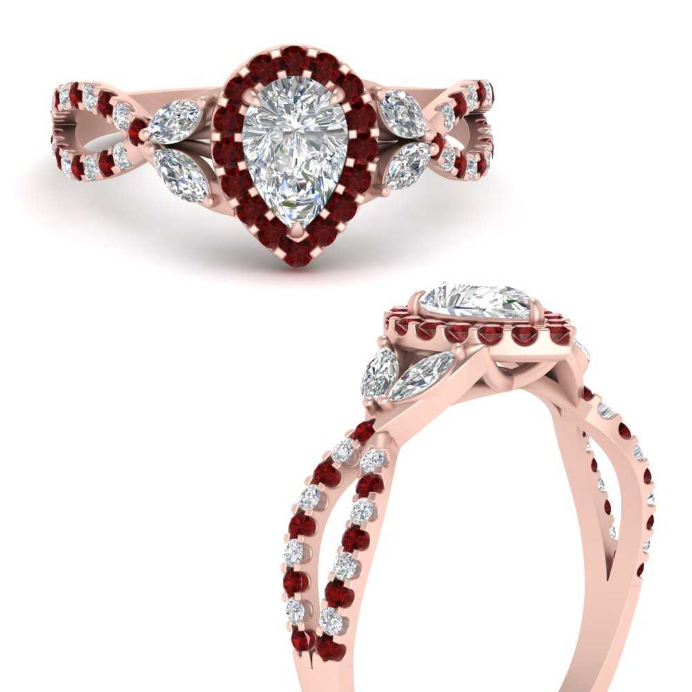 floral-halo-twisted-pear-shaped-diamond-engagement-ring-with-ruby-in-FDENS3303PERGRUDRANGLE3-NL-RG