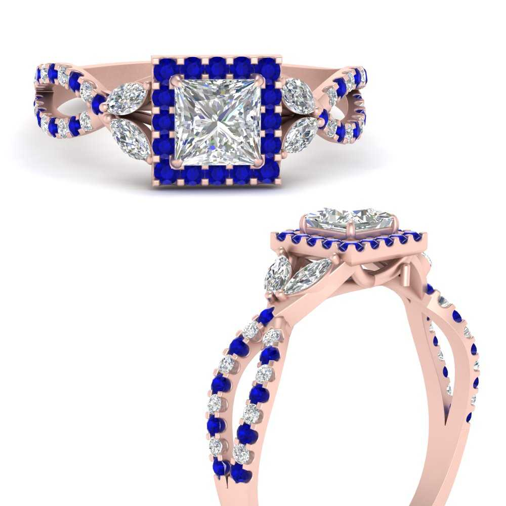 floral-halo-twisted-princess-cut-diamond-engagement-ring-with-sapphire-in-FDENS3303PRRGSABLANGLE3-NL-RG