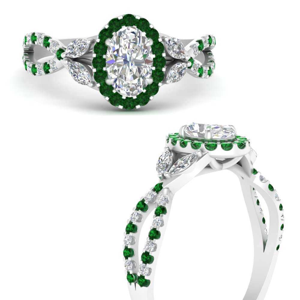 floral-split-shank-oval-shaped-halo-engagement-ring-with-emerald-in-FDENS3303OVRGEMGRANGLE3-NL-WG
