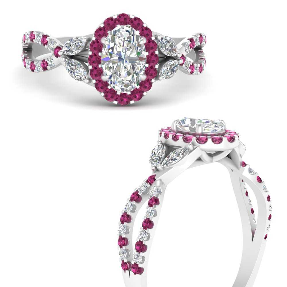 floral-split-shank-oval-shaped-halo-engagement-ring-with-pink-sapphire-in-FDENS3303OVRGSADRPIANGLE3-NL-WG