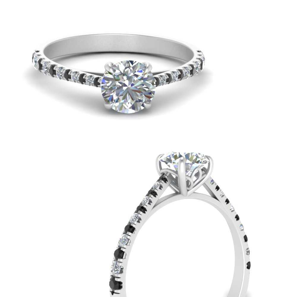graduated-french-pave-engagement-ring-with-black-diamond-in-FDENS3102RORGBLACKANGLE3-NL-WG