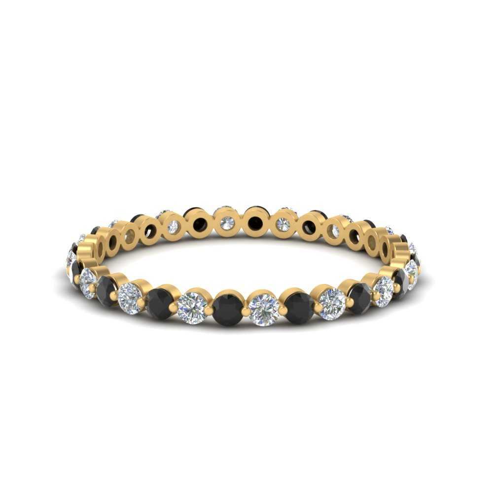 half-carat-common-prong-wedding-band-with-black-diamond-in-FDEWB9477(0.50ct)GBLACK-NL-YG