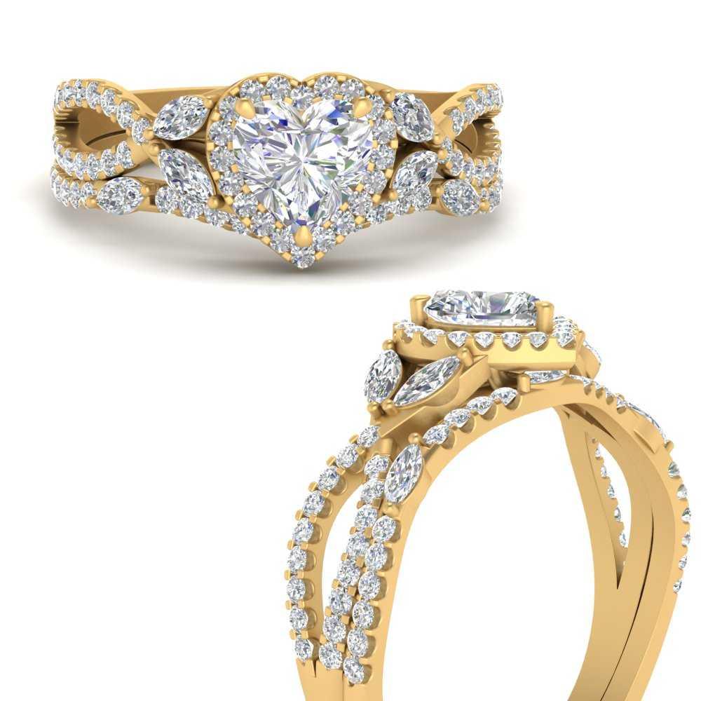 heart-halo-lab diamond-bridal-ring-set-in-FD1042HTANGLE3-NL-YG