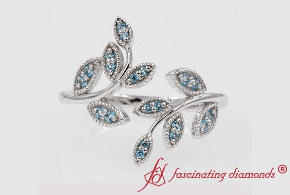 Affordable Blue Topaz Fashion Ring