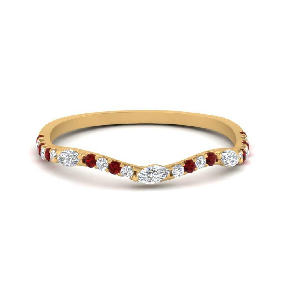 leaf-accent-diamond-wedding-band-with-ruby-in-FDENS3303BGRUDR-NL-YG