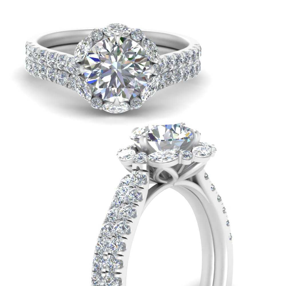 marquise-halo-round-diamond-bridal-ring-in-FD66694ROANGLE3-NL-WG