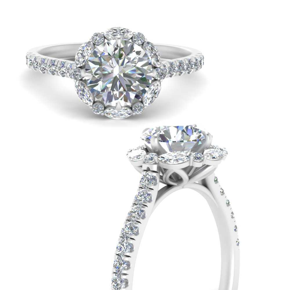 marquise-halo-round-diamond-engagement-ring-in-FD66694RORANGLE3-NL-WG