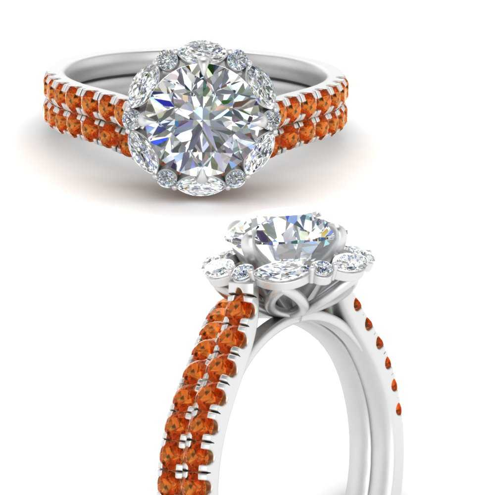 marquise-halo-round-orange-sapphire-bridal-ring-in-FD66694ROGSAORANGLE3-NL-WG