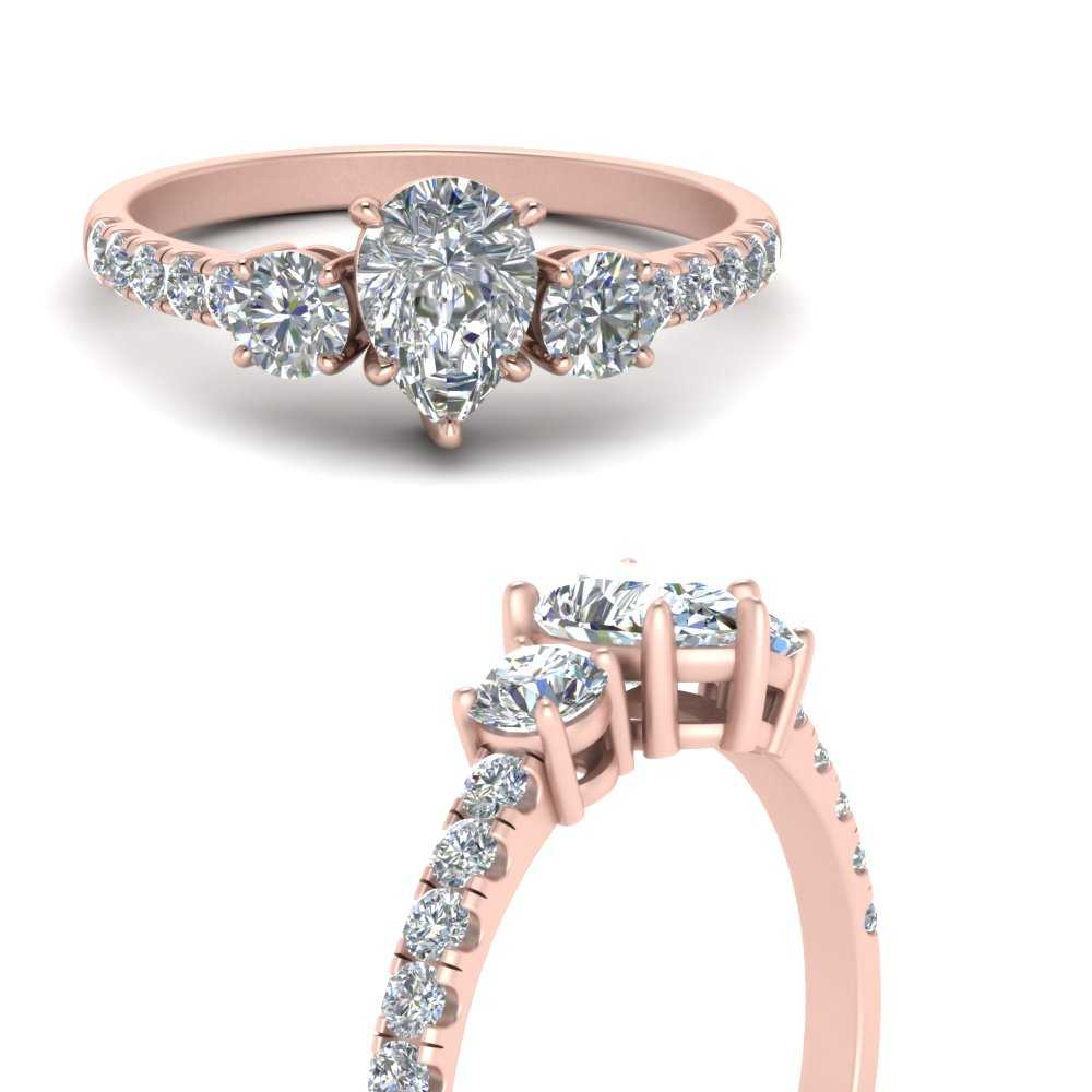 petite-micropave-pear-shaped-three-stone-moissanite-engagement-ring-in-FD9383PERANGLE3-NL-RG
