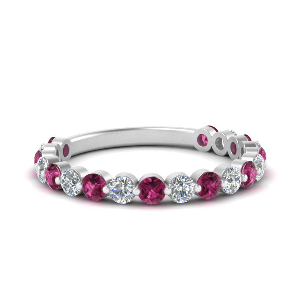 single-common-prong-diamond-wedding-band-with-pink-sapphire-in-FD121390GSADRPI-NL-WG