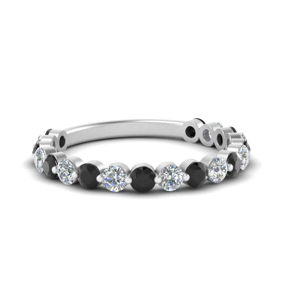 single-common-prong-wedding-band-with-black-diamond-in-FD121390GBLACK-NL-WG