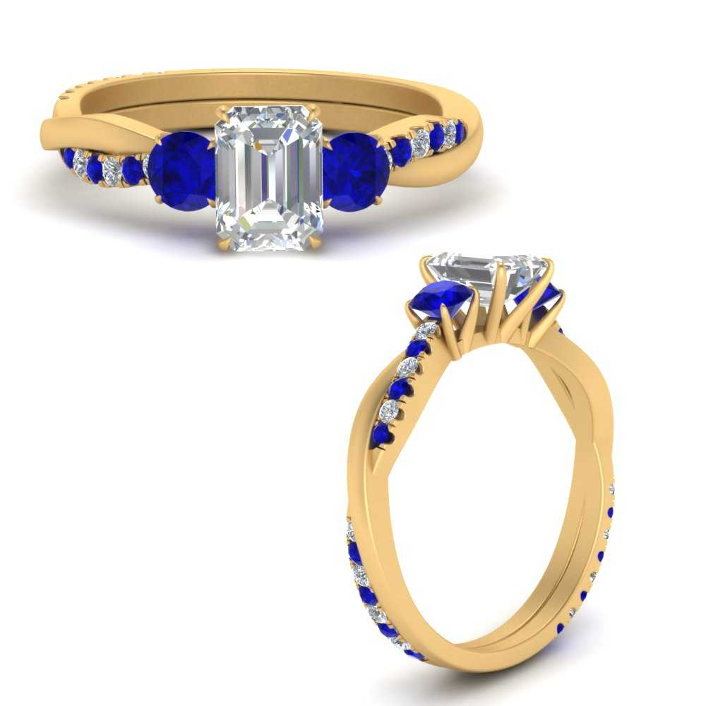 three-stone-twisted-emerald-cut-vine-diamond-ring-with-sapphire-in-FDENS3301EMRGSABLANGLE3-NL-YG