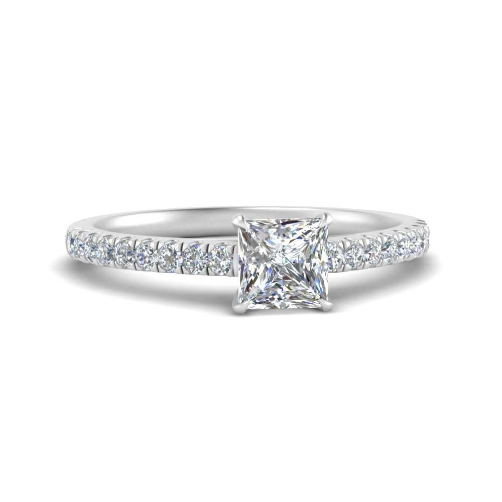 u-prong-thin-princess-cut-diamond-engagement-ring-in-FD9154PRR-NL-WG