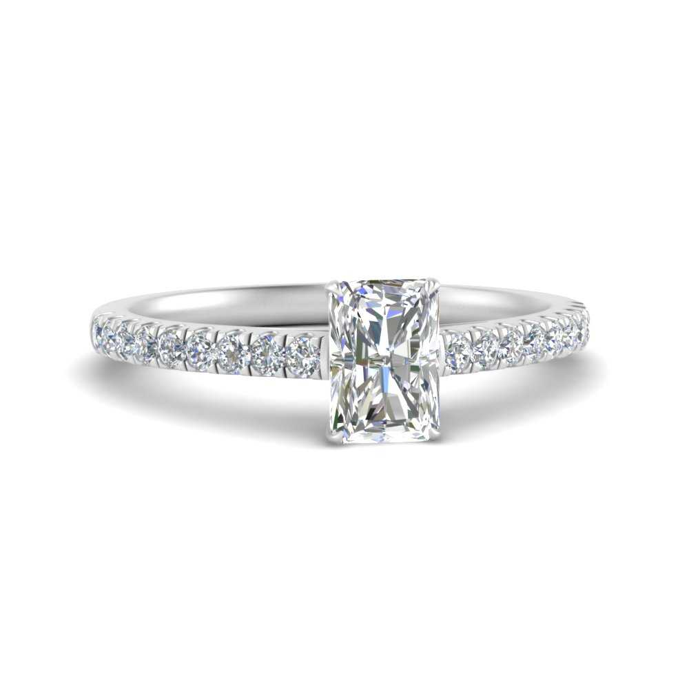 u-prong-thin-radiant-cut-diamond-engagement-ring-in-FD9154RAR-NL-WG