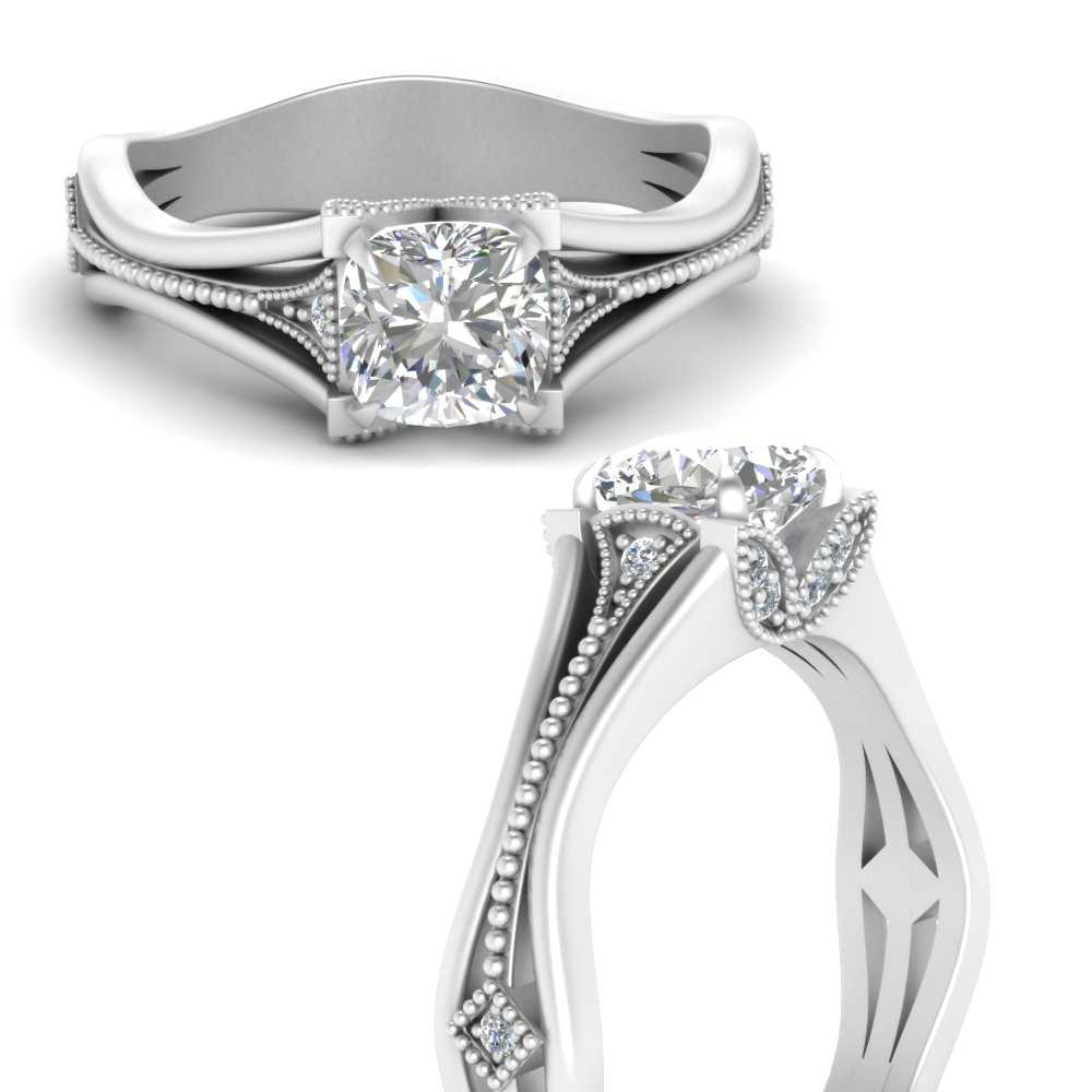 vintage-floral-cushion-cut-lab diamond-engagement-ring-in-FD9475CURANGLE3-NL-WG
