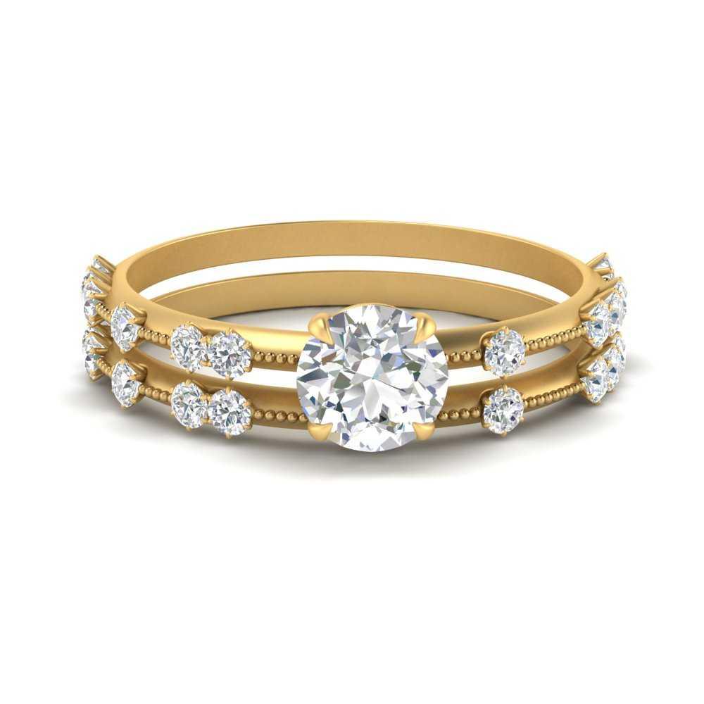 vintage-offbeat-thin-round-cut-lab diamond-wedding-sets-for-her-in-FDENS1571RO-NL-YG