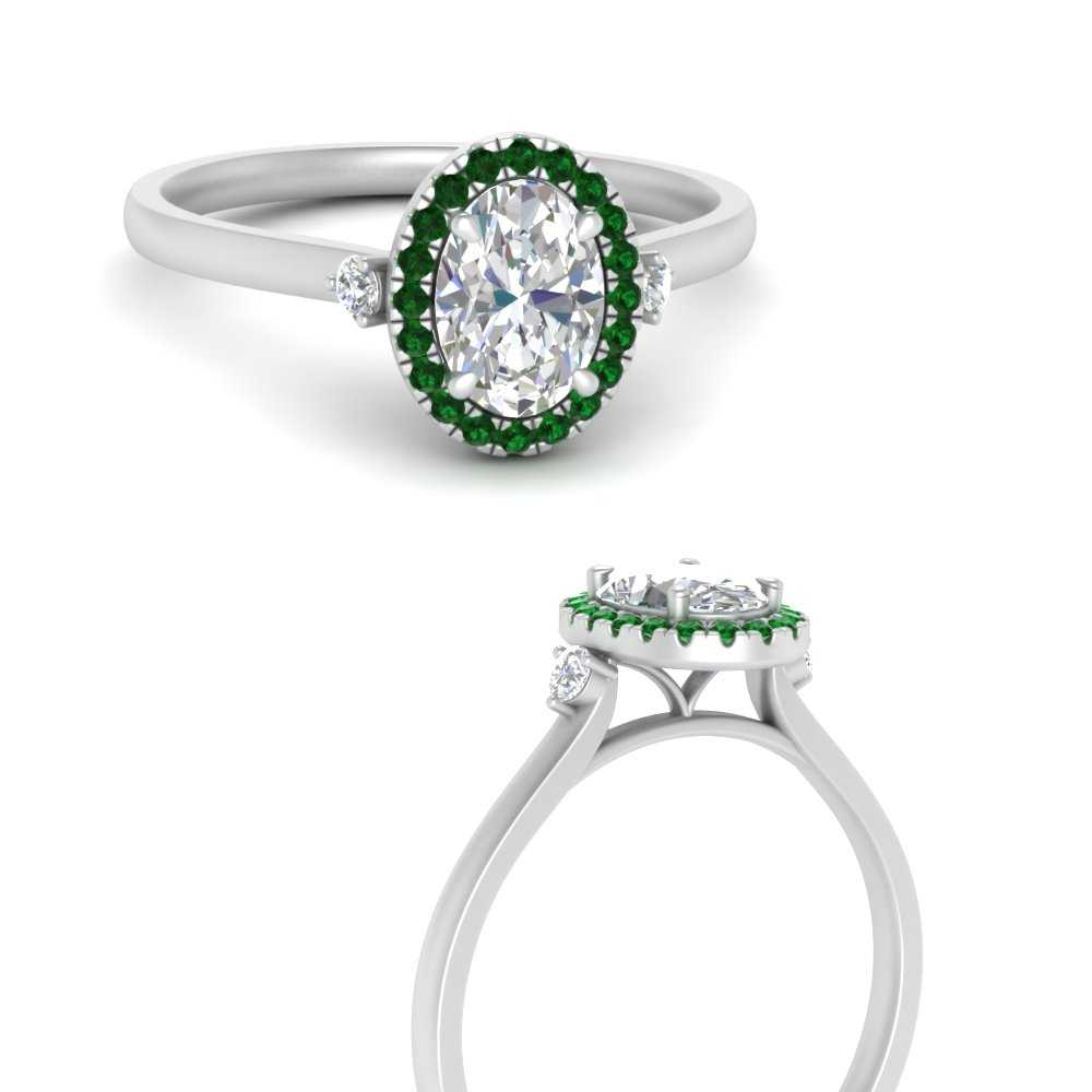 vintage-oval-beautiful-emerald-engagement-ring-in-FDENR8314OVRGEMGRANGLE3-NL-WG