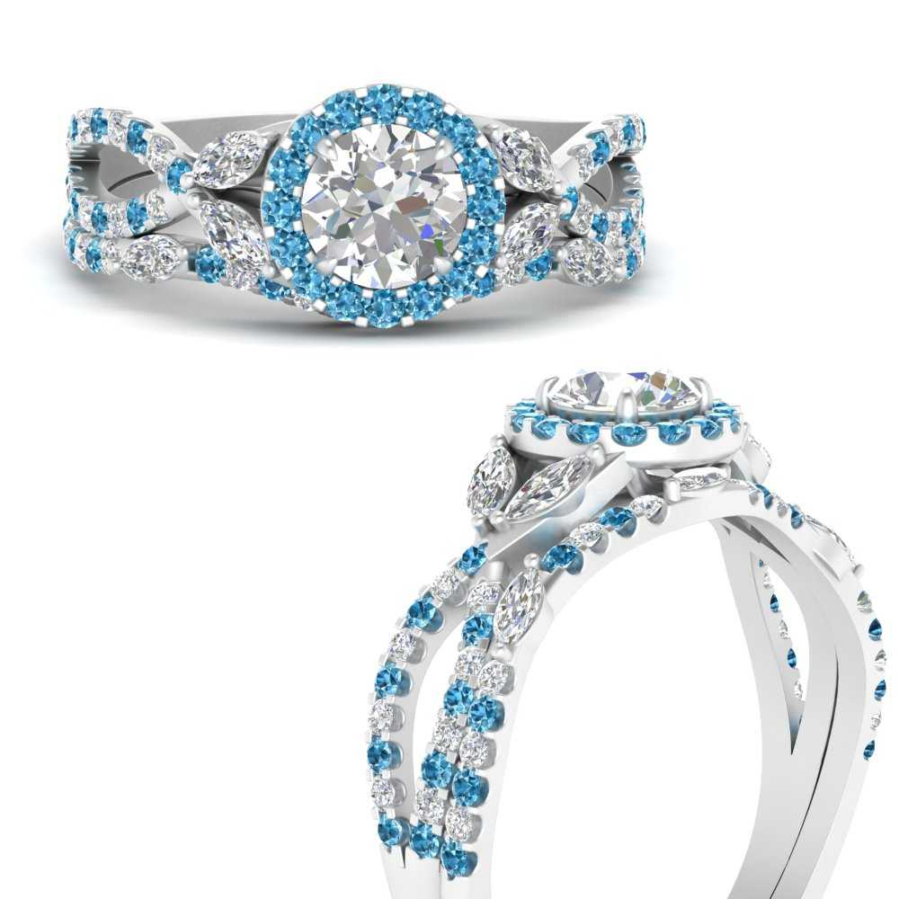 willow-wine-halo-round-cut-bridal-ring-set-with-blue-topaz-in-FDENS3303ROGICBLTOANGLE3-NL-WG